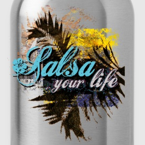 salsa your live | tanzshirts  T-Shirts - Drinkfles