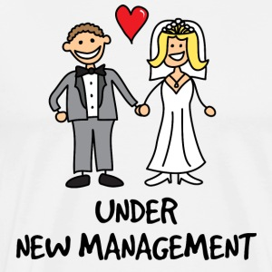 Wedding - Under New Management  - Men's Premium T-Shirt
