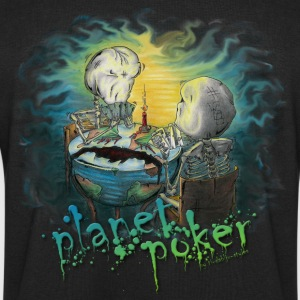 planet poker... and yes it is a virus! Jackets & Vests - Men's Sweatshirt by Stanley & Stella