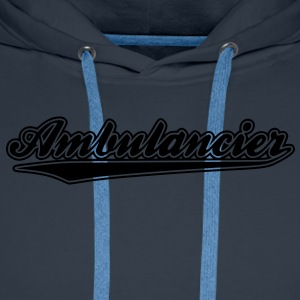 ambulancier - Sweat-shirt à capuche Premium pour hommes