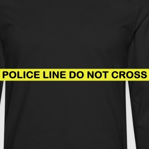 Crime scene do not cross - T-shirt manches longues Premium Homme