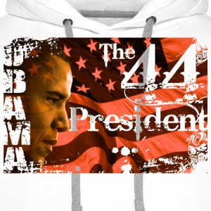 44th Obama - Men's Premium Hoodie