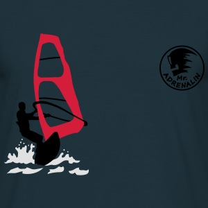 windsurfing_3 Sweat-shirts - T-shirt Homme