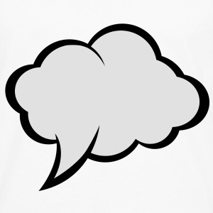 Speech Bubble (2c)++2012 T-Shirts - Men's Premium Longsleeve Shirt
