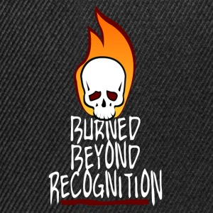 Burned Beyond Recognition  T-Shirts - Snapback Cap