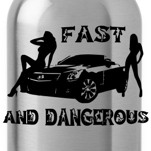 fast and dangerous Bags  - Water Bottle