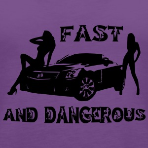 fast and dangerous Bags  - Women's Premium Tank Top