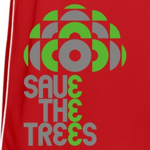 Red/white save trees Bags  - Men's Football Jersey
