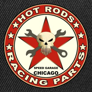 hot rods racing parts Sweat-shirts - Casquette snapback