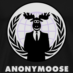 Anonymoose - Anonymous 1 - Men's Premium T-Shirt