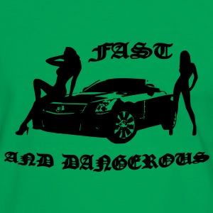 fast and dangerous Bags  - Men's Ringer Shirt