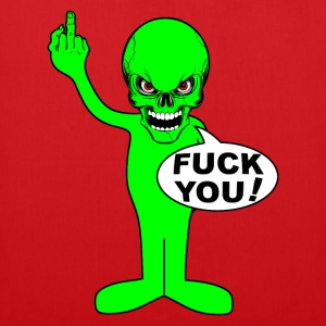 fuck you alien Hoodies & Sweatshirts - Tote Bag