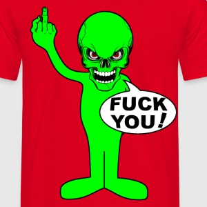 fuck you alien Hoodies & Sweatshirts - Men's T-Shirt