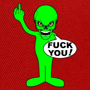 fuck you alien Hoodies & Sweatshirts - Snapback Cap