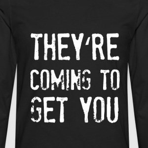 they are everywhere T-Shirts - Männer Premium Langarmshirt