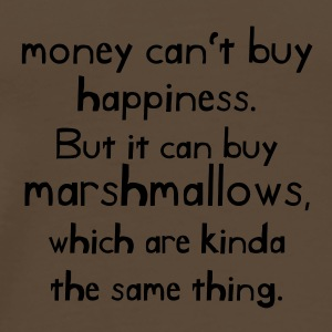 Money can't buy happiness - Men's Premium T-Shirt