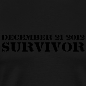 Survivor - T-shirt Premium Homme