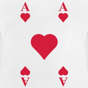 ace of hearts, playing card  Shirts - Baby T-Shirt