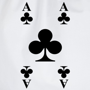 ace of clubs T-Shirts - Turnbeutel