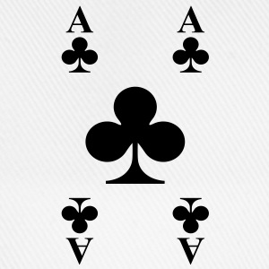 ace of clubs T-Shirts - Baseballkappe