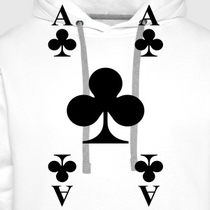 ace of clubs T-Shirts - Männer Premium Hoodie