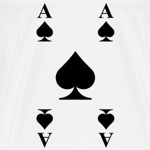 Ace of spades  Shirts - Men's Premium T-Shirt