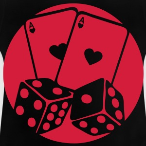 carte poker as des jeu game logo1 Tee shirts - T-shirt Bébé