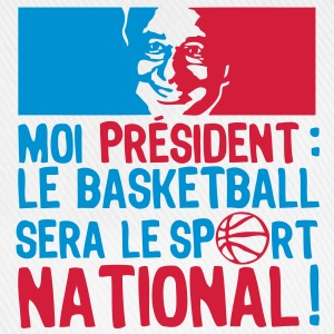 moi president basketball sport national Tee shirts - Casquette classique