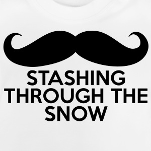 Stashing Through The Snow Pullover & Hoodies - Baby T-Shirt