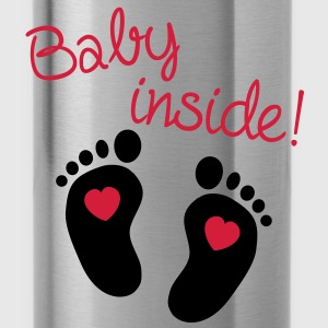Baby Inside T-Shirts - Water Bottle