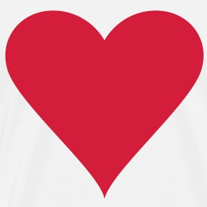 Heart / Hart / Love - Men's Premium T-Shirt