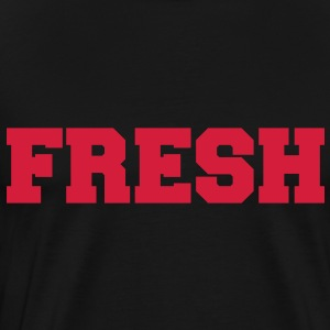 Fresh - Premium T-skjorte for menn