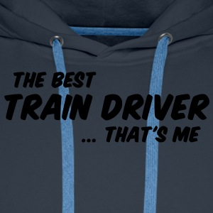 train driver - Men's Premium Hoodie