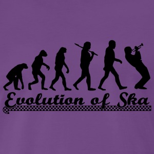 Evolution of Ska Pullover & Hoodies - Männer Premium T-Shirt