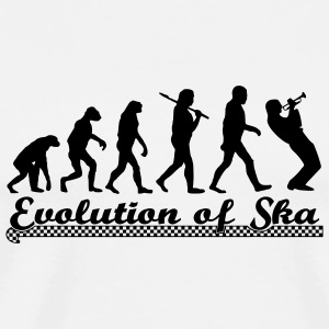 Evolution of Ska Buttons / Anstecker - Männer Premium T-Shirt