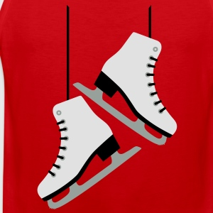 White Skates / skating T-Shirts - Men's Premium Tank Top