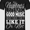 Listen to Music T-Shirt - Men's T-Shirt