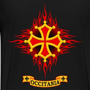 Occitania flaming Sweat-shirts - T-shirt Premium Homme