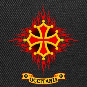 Occitania flaming Sweat-shirts - Casquette snapback