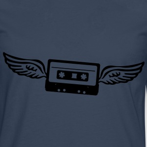 Cassettes angel  Hoodies & Sweatshirts - Men's Premium Longsleeve Shirt