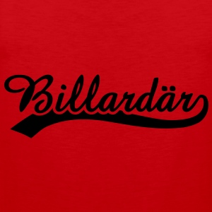 Billardär 1 T-Shirts - Men's Premium Tank Top
