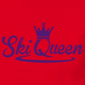 Ski Queen Hoodies & Sweatshirts - Men's T-Shirt