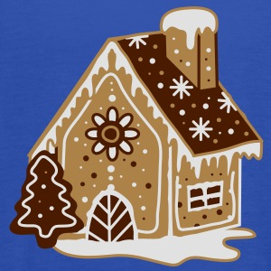 A gingerbread house, gingerbread and frosting  Hoodies & Sweatshirts - Women's Tank Top by Bella