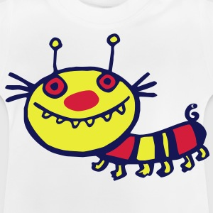 toothy caterpillar - Baby T-Shirt