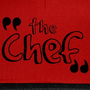 T-shir BEST SELLER the chef - Casquette snapback