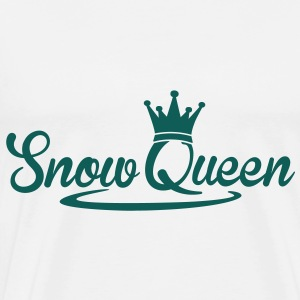 Snow Queen Sweatshirts - Herre premium T-shirt