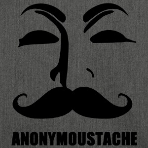 anonymoustache Sweatshirts - Skuldertaske af recycling-material
