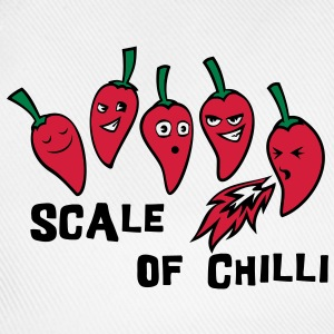 scale of chilli Bags  - Baseball Cap