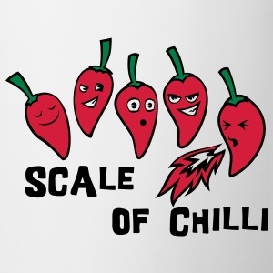 scale of chilli Bags  - Mug