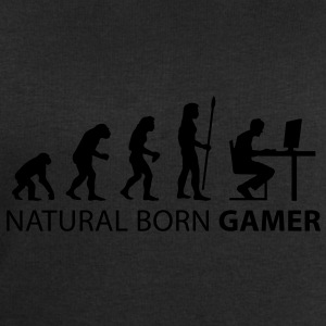 evolution_born_gamer T-shirts - Mannen sweatshirt van Stanley & Stella